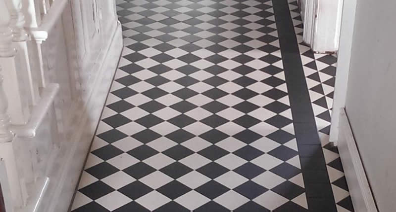 Floor tiles from Abbey Tiles Newtownards Co Down
