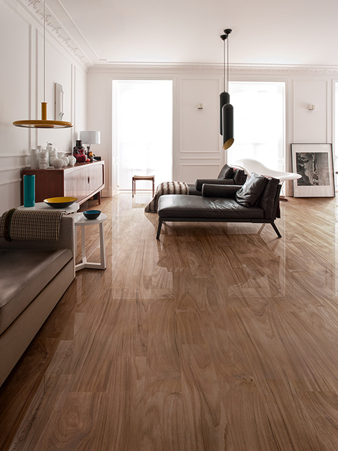 High Glazed Wood Effect Tiles
